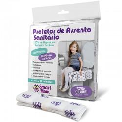 Protetor para Assento Sanitário - Embalagem c/ 10 unidades